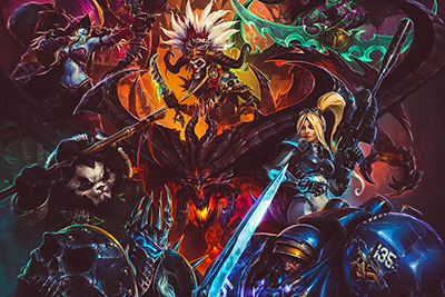 Blizzard выпустил онлайн-игру Heroes of the Storm